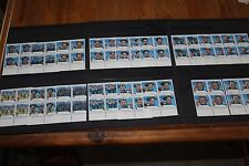 AUST 2004 OLYMPIC GOLD MEDALISTS SET OF 17 IN BLOCKS OF 4 VERY FINE M/N/H
