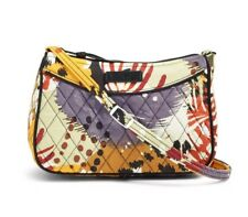 NWT Vera Bradley Little Crossbody Bag in Painted Feathers Ships Fast
