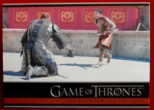 GAME OF THRONES - Season 4 - Card #24 - MOUNTAIN & THE VIPER - Rittenhouse 2015