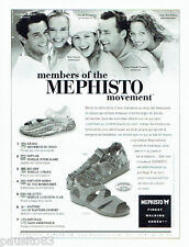 PUBLICITE ADVERTISING 066  2000  Mephisto chaussures sandales members