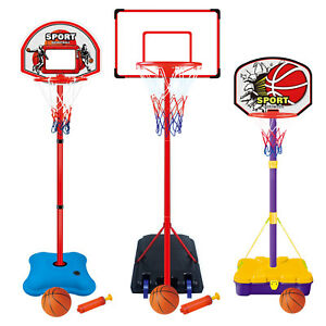 Childrens Kids Basketball Sets Portable Freestanding Sports Toy Basket Ball Hoop