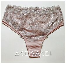 NWT*Victoria's Secret Dream Angels Lace High Waist Cheeky Panty--ANGEL PINK--M/M