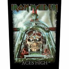 Iron Maiden Rückenaufnäher Aces High Backpatch XL Aufnäher Patch