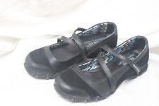SKECHERS RELAXED FIT MEMORY FOAM BLACK MARY JANE STYLE FLAT SHOES  SIZE 6