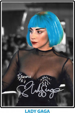 4x6 SIGNED AUTOGRAPH PHOTO REPRINT OF LADY GAGA