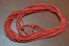 10 METER RED WAX COTTON BEADING CORD STRING 2MM #T-2761A