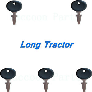 5 Long Tractor Ignition Keys 310 350 360 445 460 510 550 560 610 2310 2360 2460