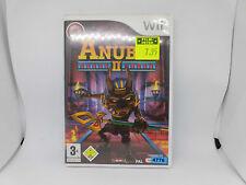 Wii Spiel: Anubis 2 II, Jump and Run, Anubis ist zurück, sehr gut erh. +Booklet