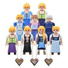 Playmobil Figurines Bauernmagd Dirndl Oktoberfest Costumes Traditionnels Maid