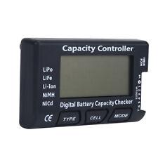 LiPo Tester Batterie Akku Kapazität Spannung Checker for Li-Ion NiMH Nicd