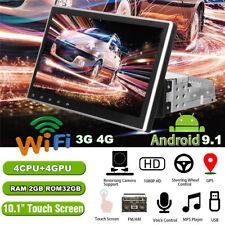 "10.1"" 1Din Android 9.1 Car Stereo Radio GPS Navigation RAM 2GB ROM 32GB Wifi BT"