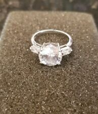 Lia Sophia Kiam CZ Ring 8.6 carats
