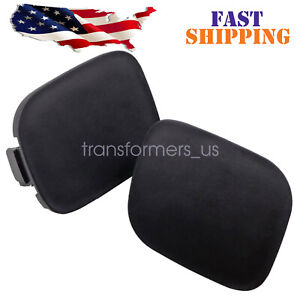 For 2010 2011 Toyota Prius Front Bumper Tow Hook Eye Cap cover 1 pair