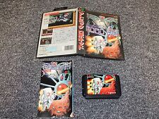 JAPANESE NTSC JAP SEGA MEGA DRIVE GAME - ATOMIC ROBOKID - COMPLETE - TESTED