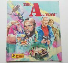 Rare PANINI THE A-TEAM  - EMPTY STICKER ALBUM  - TV collectable