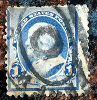 Very Nice Regular Issue Fancy Cancel 1890 1893 1 Cent Franklin Stamp J100