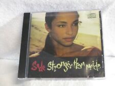 "/CD - Sade ""Stronger Than Pride"" - 1988 - Jazz - Epic"