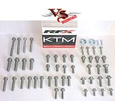 RFX Track Pack Pernos Tuerca & Arandela KITS KTM EXC125 EXC150 EXC200 EXC250 2000-17