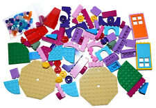 LEGO 100 pieces PINK PURPLE GIRLS FRIENDS MIXED NEW flowers bricks slope arch *
