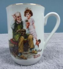 "Vintage Norman Rockwell Mug ""The Cobbler"" 1982"