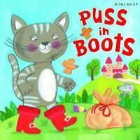 Puss in Boots (Fairy Tales)-ExLibrary