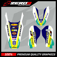 HUSQVARNA TRIM KIT TC 50 65 85 125 250 350 450 MOTOCROSS GRAPHICS MX GRAPHICS