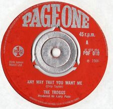 "The Troggs - Any Way That You Want Me 7"" Single 1966"