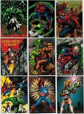 1994 MARVEL FLAIR ANNUAL '94 INAUGURAL EDITION FLEER COMPLETE CARD SET #1-150