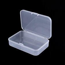 5Pcs  Small_Plastic Clear Transparent Container Case Storage Box Organizer Tool