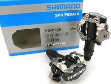 Shimano pd-m520 pedal pedales Cleats spd enduro MTB clickpedal bicicleta negro