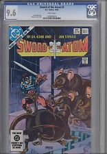 Sword of the Atom #2 CGC 9.6 1983 Marvel Gil Kane Comic