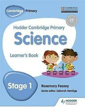 Hodder Cambridge Primary Science Learner's Book 1 by Rosemary Feasey (Paperback, 2017)