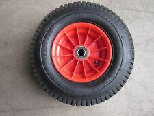 "16"" 400mm Pump up Barrow wheel 6.50 x 8 air plastic rim 25mm bore pneumatic"