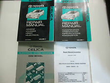 2002 Toyota CELICA Service Shop Repair Manual Set FACTORY OEM BOOKS USED 02
