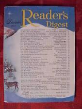 Reader's Digest December 1953 Max Eastman John Gunther