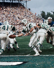 1969 New York Jets MATT SNELL & JOE NAMATH Super Bowl III 8x10 Photo Print