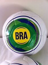 Brazil Size 5 Football World Cup Soccer Ball Brazilia Champions Brazilian NEW