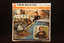 """The Rookies Viewmaster 1975 Factory Sealed """"Police Officers"""" ABC TV Series"""""""