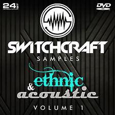Ethnique et acoustique vol 1-Studio de 24bit wav / échantillons de production musicale-DVD