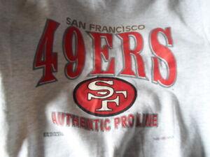 Vintage San Francisco 49ers Sweatshirt Size M Logo Made In USA Pre-Worn