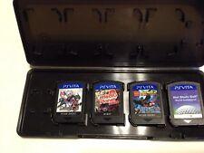 Lot of 4 (Playstation Vita, PS VITA) Games Batman Lego Disgea 3