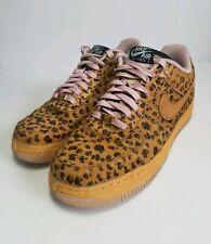 in stock 36e53 ed907 Nike Air Force 1 Nike ID Cheetah Animal Print Pony Hair 574260-987 Size 11