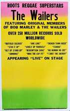 The Wailers Concert Poster Blank Circa 2006