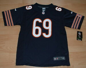 NIKE CHICAGO BEARS JARED ALLEN #69 HOME FOOTBALL JERSEY YOUTH LARGE