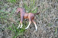 "Vintage Breyer  Small Pony Horse Brown approx 4"" By 4.5"""