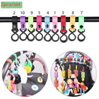 Multifunctional Pushchair Accessories Shopping Bag Clip Hanging Stroller Hooks