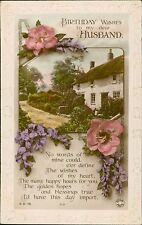 Vintage Greetings Postcards Lot  Posted Or Notes Verso  QS.268