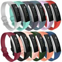 Replacement Soft Silicone Sports Wristband Band Strap For Fitbit Alta HR Tracker