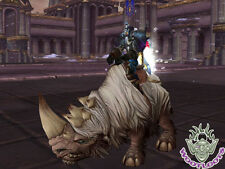 Wooly White Rhino Loot Card World of Warcraft Mount WoW TCG Icecrown Ice Crown