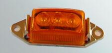 NEW AMBER LED Clearance Marker Light Truck Trailer RV Boat  LED
